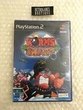WORMS BLAST PS2 Playstation 2 Pal ITA / ESP Nuovo SIGILLATO
