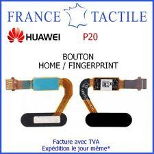 Bouton Home Lecteur d'Empreinte Fingerprint pour Huawei P20 - NOIR