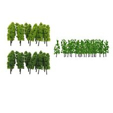 10x scala 1 200 dipinta modello di albero edificio parco giardino paesaggio
