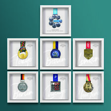 Marathon Majors complete set of personalised medal frames - A unique gift!