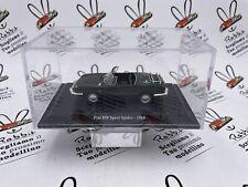 "DIE CAST "" FIAT 850 SPORT SPIDER - 1968 "" + TECA RIGIDA BOX 2 SCALA 1/43"