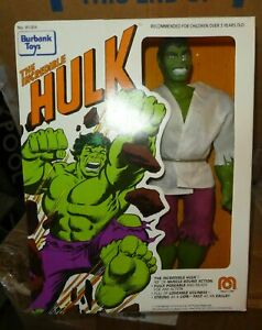 "Marvel comics Burbank toys version Mego 12"" HULK 1978 Brand new sealed figure"