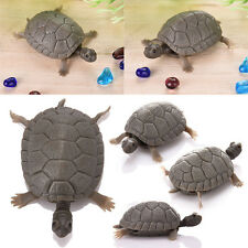 Aquarium Plastic Fake Turtle Tortoise Decor Decoration For Fish Tank Pond Pool