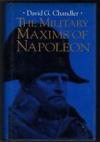 USED (GD) The Military Maxims of Napoleon by David G. Chandler