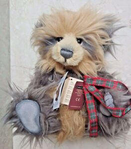 Charlie Bears 2014 Hug No 6 Plumo Plush Collection LE 4000 Made Limited Edition