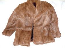Coney Brown Fur Coat