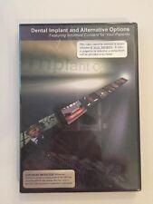 Dental Implant Alternative Options Informed Consent DVD+Book Pt Education New