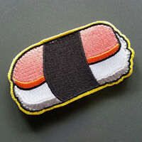 "Musubi Patch - 3.75"" x 1.25"" with hook and loop backing"