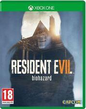 Xbox ONE Resident Evil 7 Biohazard (Lenticular Case) BRAND NEW