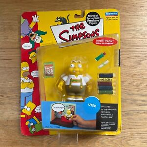 The Simpsons Uter WOS Action Figure - Brand New