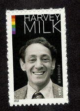 4906 Harvey Milk US Single Mint/nh (Free shipping offer)