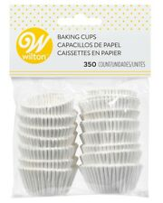 Wilton White Mini Cupcake Muffin Liner Candy Baking Paper Party Cups, 350-Count