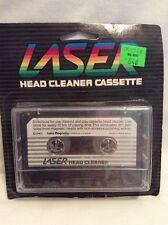 Laser Head Cleaner Cassette Tape Vintage 1983 Swire Magnetics Hong Kong NOS! H25