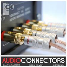 4 x Amplifier /Speaker Binding Posts - Socket for 4mm Banana Plug (BI2)