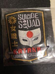FUNKO DC Legion of Collectors SUICIDE SQUAD exclusive KATANA Patch Comic