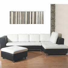 Modern Art Wall Picture Photo Giclee Poster Barcode Canvas Print 100cm x 40cm