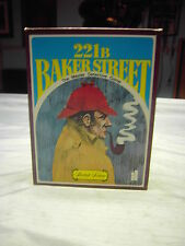 221 B BAKER STREET Board Game Missing 6 Tokens