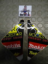 Suzuki RMZ250 2010-2016 RMZ450 2008-2016 Rockstar air box graphics RM1205