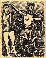 Das SCHAUFENSTER und seine PUPPEN - Frans MASEREEL - L´ETALAGE -  1947