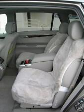 Sheepskin DoubleCap Seat Covers with airbags cutout