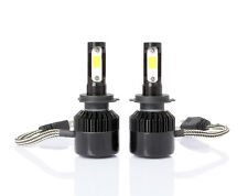 2 x H7 Premium COB LED Headlight 6000K 160000LM Bulbs for Low Beam @