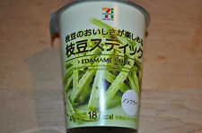 EDAMAME STICK by 7 & i x Tohato , Green Soy Beans Snack, Japan, 1 Cup
