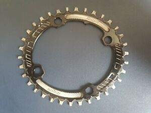 Hope Oval Retainer Ring Narrow/Wide Chainring - 4 Bolt 104 PCD 34T
