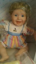 Danbury Mint At The Beach Collectable Doll Porcelain /1990