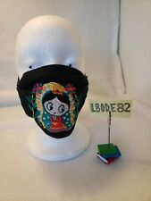 Embroidered Face Mask ~ Olg ~ Our Lady of Guadalupe ~ Made in Mexico!