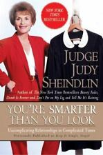 You're Smarter Than You Look a JUDGE JUDY paperback book Sheindlin FREE SHIPPING