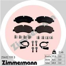 1x Bremsbelagsatz  Scheibenbremse ZIMMERMANN 25602.170.3
