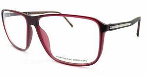 PORSCHE DESIGN Glasses Frame Matte Deep Bordeaux 60mm Spectacles RX P8269 C