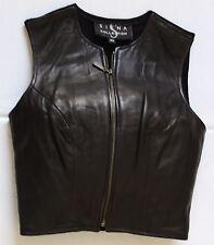 Ladies Leather Vest - Siena Collection- XS