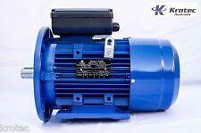 Electric motor single phase 240v 3kw 4hp 1400 rpm B35 Flange