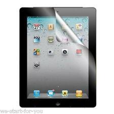 ★WOW! 3 x Schutzfolie-Klar für iPad 4 & iPad 3 & iPad 2 Display Folie Clear NEU★