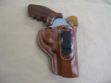 "Smith & Wesson 29 3"" Revolver S&W IWB Leather In The Waistband Carry Holster TAN"