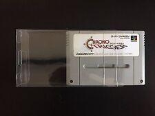 20 SUPER NINTENDO .50mm THICK VIDEO GAME SNES CARTRIDGE PROTECTOR CUSTOM CASE
