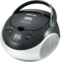 Naxa Npb-252Blk Portable Mp3/Cd Player Am/Fm Stereo Radio- Black