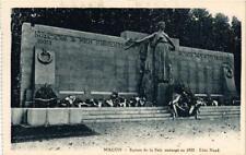 CPA Macon Square de la Paix amenage en 1922 (616183)