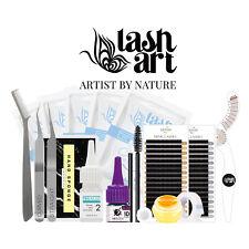Eyelash Extension Kit Individual Lashes Starter Professional Training Practice