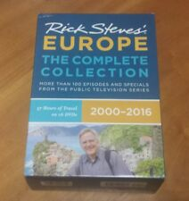 Rick Steves' Europe - The Complete Collection 2000-2016 (DVD, 16-Disc Set) PBS