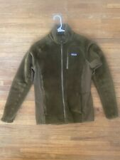 Patagonia Mens R2 Fleece Jacket Full Zip Green Medium