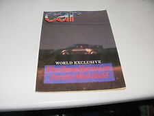 CAR       MAGAZINE       FROM  MARCH   1987    ENGLISH MONTHLY