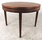 Mid Century Modern Round Teak Coffee Table  1120 NJ