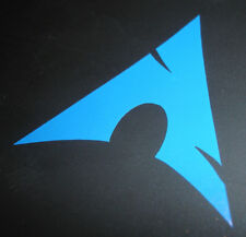 Arch linux sticker - Small - Linux GNU OS Opensource PC Laptop Phone - (BLUE)