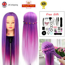 """Neverland Beauty 26-28"""" Training Head Hairdressing Mannequin Braid Sets&Clamp"""
