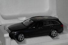 Mercedes C-Klasse T-Modell 2014 dunkel grau met. 1:18 Norev neu & OVP 183475