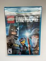 Nintendo Wii U LEGO Dimensions Sealed Game Only - Brand New - Free Ship!