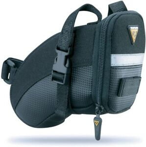 Topeak Aero Wedge Strap Mount Seat Pack Small Saddle Bag Cycling Bike