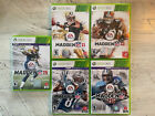 Madden NFL 11-15 (Xbox 360) Lot Bundle All Tested